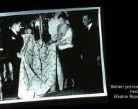 Winning quilt presented to First Lady, Eleanor Roosevelt Shelly Zegart Archives