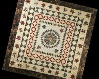 Mariner\'s Compass Maker unknown 19th century Cotton, chintz 100