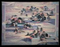 Archipelago, original design Nancy Halpern  c. 1983 92 ½
