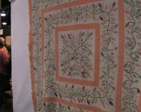 Quilt - Heart of Country Antique Show Nashville, Tennessee B-roll by Alan Miller