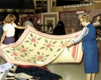 Quilts: An American Romance May 12 - 17, 1980 Somerset Mall  Troy, Michigan Courtesy Shelly Zegart