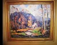 Landscape Derk Smit Oil on canvas Courtesy of Susan Parrett and Rod Lich