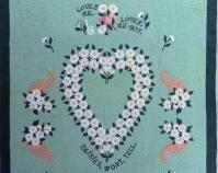Daisies Won\'t Tell Mary Gasperik 1930-1949 Cotton, broadcloth 76