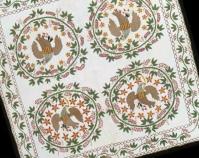 Appliquéd Eagles Maker unknown c. 1850 84