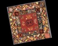 Crazy Quilt variation Maker unknown