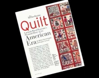 The Reconciliation Quilt: Lucinda Ward Honstain\'s  Pictorial Diary of an American Era by Melissa Stewart Jurgena and Patricia Cox Crews Folk Art Magazine Fall 2003 American Folk Art Museum New York, New York www.folkartmuseum.org