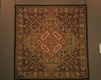 "Renaissance Revival Mariya Waters 2007 86 ½"" x 86 ½\"" Item number 2009.01.01 The National Quilt Museum Paducah, Kentucky www.mariyawaters.com www.quiltmuseum.org More info at www.quiltindex.org"