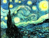The Starry Night Vincent Van Gogh Public domain