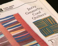Jazzy Geometry,Cool Quilters By Michael Kimmelman The New York Times Weekend Fine Arts Leisure November 29, 2002