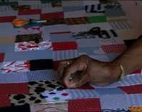B-roll from The Quilts of Gee's Bend Courtesy of Matt Arnett and Vanessa Vadim Tinwood Media Production, 2002 Atlanta, Georgia