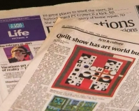 Quilt show has the art world buzzing By Maria Puente USA Today Arts & Culture February 21, 2003