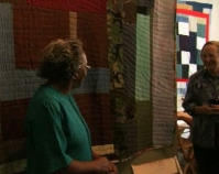 The Quilts of Gee\'s Bend exhibition B-roll from The Quiltmakers of Gee\'s Bend Alabama Public Television, 2004