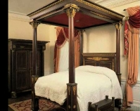 Philadelphia Empire Bedroom Photo by Herb Crossan Winterthur Museum, Garden and Library Winterthur, Delaware www.winterthur.org