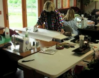 Quilt class Photo by Marcia DeCamp