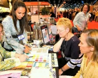 Photograph of International Quilt Market  Quilts, Inc. and International Quilt Market  Houston, Texas  www.quilts.com