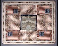 Mariners Quilt Maker unknown Cotton Photo by Geoffrey Carr Former ly in the collection of Shelly Zegart