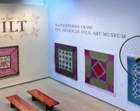 Year of the Quilt Masterworks f rom The American Folk Art Museum exhibition October 5, 2010 - October 16, 2011 American Folk Art Museum New Yor k, New York www.folkartmuseum.org
