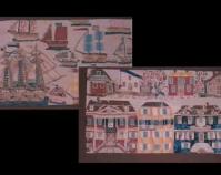 "Appliqué panel Martha Cannon Webb c. 1840 Co tton 17 "" x 208 "" Item number 1977.081 The Charleston Museum Charleston, Sou th Carolina www.charlestonmuseum.org"