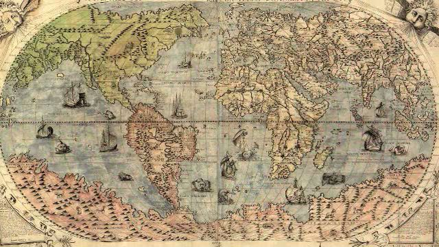 Why quilts matter history art politics why quilts matter map of the world from 1500 gumiabroncs Gallery