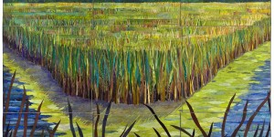 Wisconsin Wetlands II River Bend by Sue Benner (2007) - Collection of John M. Walsh, III