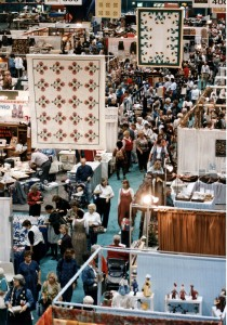Photograph of International Quilt Festival. Quilts, Inc. and International Quilt Festival Houston, Texas