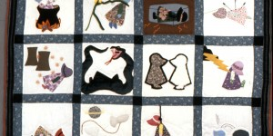The Many Deaths of Sunbonnet Sue Quilt
