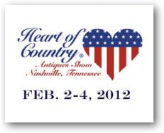 Heart of Country Antiques Show - Feb 2012