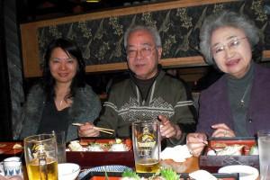 Junko Sasaki (interpreter), Fumie and Kanji Ono