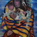 Kneeling Madonna by Penny Sisto