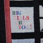 KCIW - Domestic Violence Support Group (1999), quilt detail