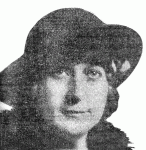 Mae Waters (Mrs. Frank N. Waters) - American Legion Auxiliary, Unit #9 President (1930)