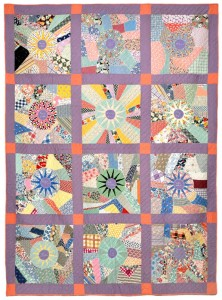 Kansas School District 71 Quilt  Late 1930s