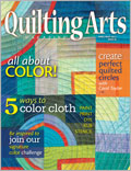 Quilting Arts April / May 2012 Cover