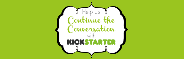 Why Quilts Matter - Continuing Conversation, Kickstarter Badge