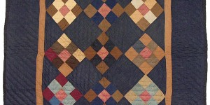 Esprit Collection - Nine Patch Crib Quilt