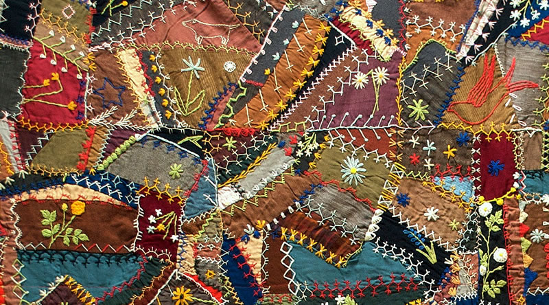 Why Quilts Matter: History, Art & Politics - Wonderful Wools - by ... : making a crazy quilt - Adamdwight.com