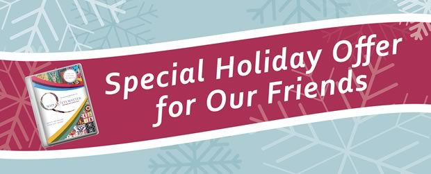 Why Quilts Matter - Holiday Offer 2013