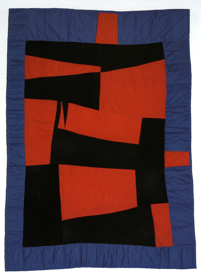 "Medallion; 2005; made by Loretta P. Bennett; 88"" x 63""; cotton and twill; photo by Pitkin Studio, courtesy of Matt Arnett<br />Photo by"