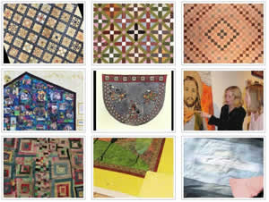 Click to see Why Quilts Matter: History, Art & Politics - Image Resource Gallery - Episode 1