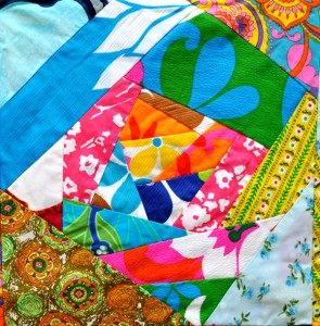 The New VIntage - Quilt - Wild Thing (Detail)