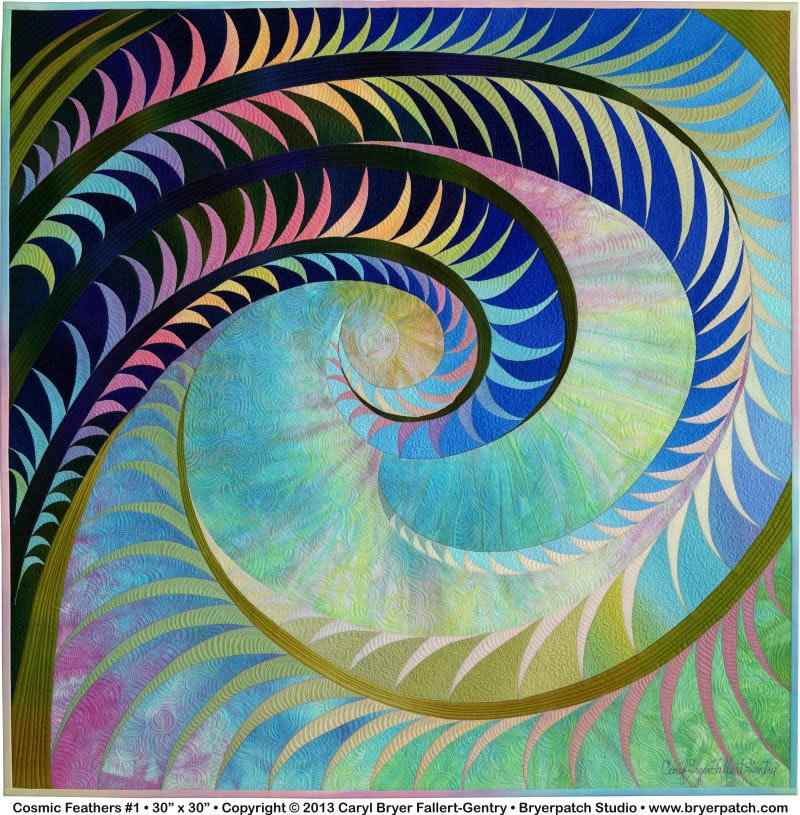 Cosmic Feathers - by Caryl Bryer Fallert Gentry