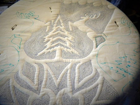 Time Latimer - Snowflake Quilt -  Work in Progress