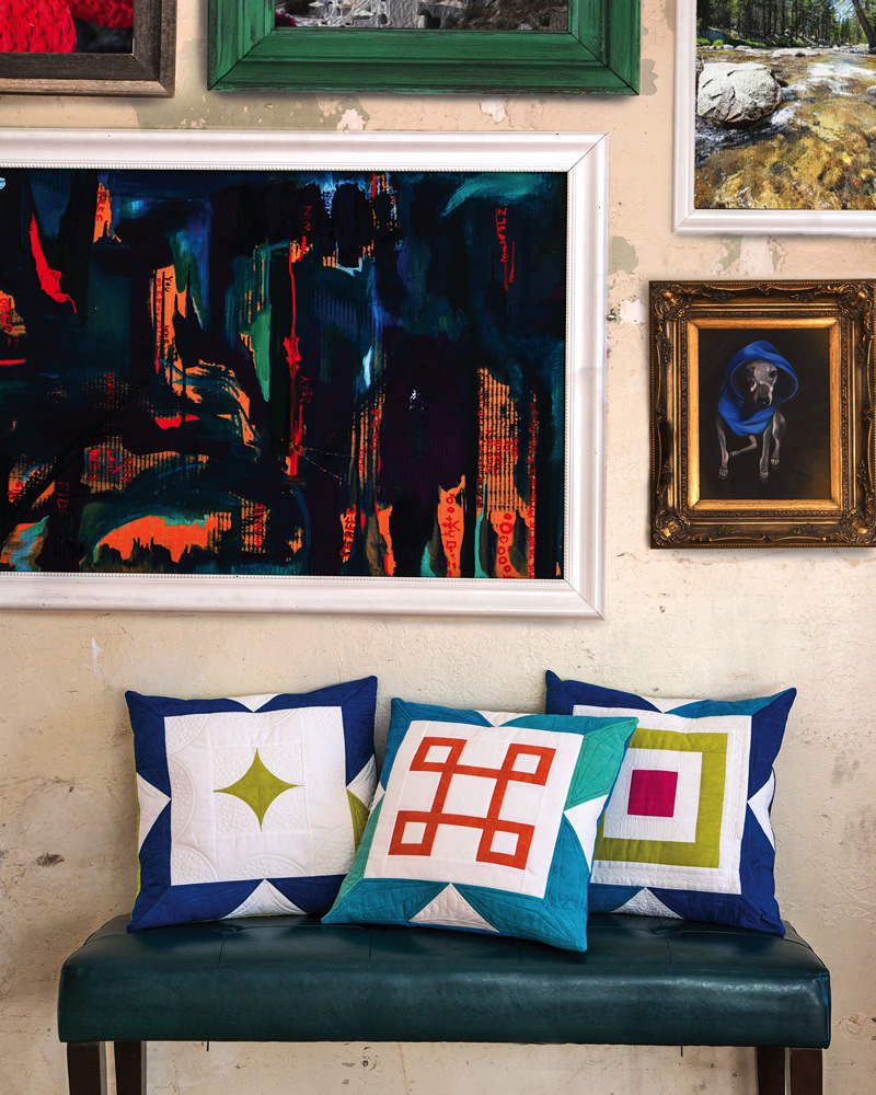 Amanda Leins Mosaic Pillows