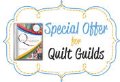 Special Offer for Quilt Guilds