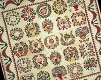 Baltimore Album Mary E. Gray 1851 Cotton, silk, appliquéd 115