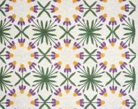 Iris Maker unknown c. 1920-1940 Cottons, appliquéd 91