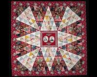 Garfield - Arthur Medallion Quilt Anna May Ensminger 1884 Cotton 84