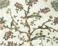 Rose Tree or Tree of Life (detail) Susan A. Short Harbin c. 1850 Broderie perse appliqué 81