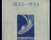 "Chicago World\'s Fair, Sears Century of Progress Ida Stow 1933 91 ½\"" x 76\"" Item number 1997.007.0947 The International Quilt Study Center & Museum University of Nebraska-Lincoln Lincoln, Nebraska  www.quiltstudy.org/collections"
