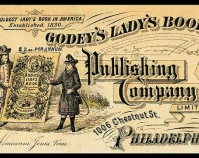 Godey\'s Lady\'s Book cover Public domain